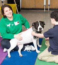 Emily Meyer, Volunteer Pet Therapist