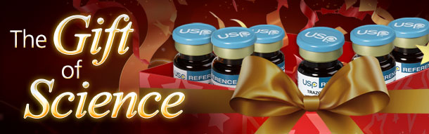The gift of science - Happy Holidays from USP!