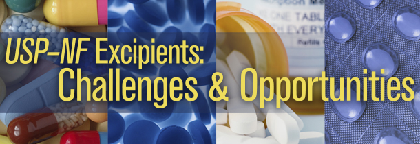 Challenges and Opportunities in Updating USP-NF Excipients