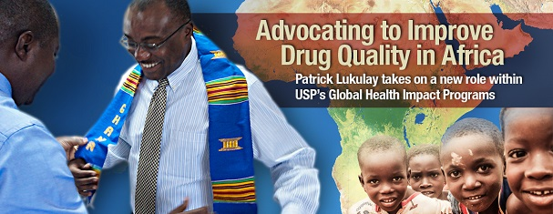 USP's Patrick Lukulay explains work to improve drug quality in Africa