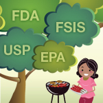 Organizations that help to maintain a safe food supply in the United States