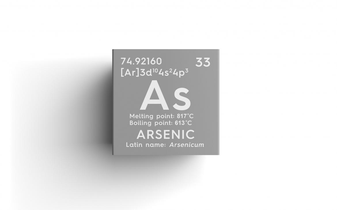 Chemical properties of arsenic (a potentially toxic impurity)
